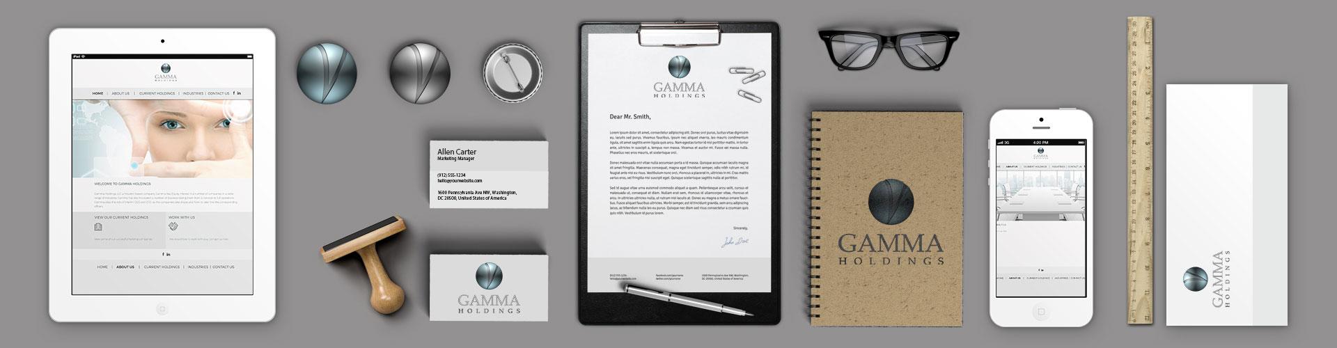 Gamma Holdings Header Image